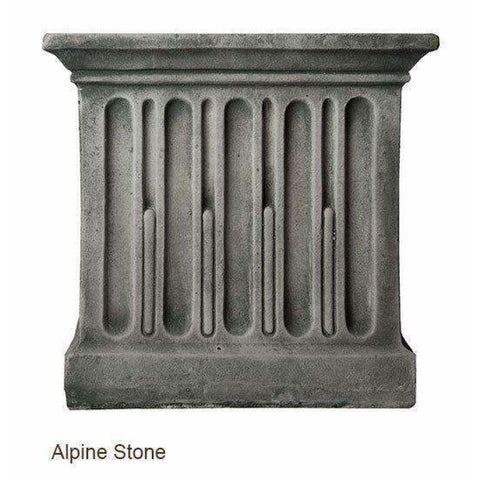 Image of Campania International Charleston Garden Fountain - Alpine Stone - Estate Fountains