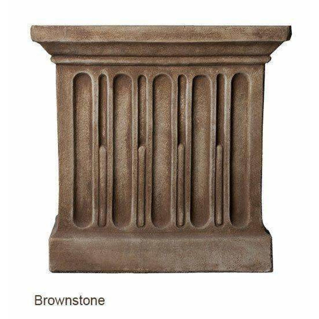 Campania International Charleston Garden Fountain - Brownstone - Estate Fountains