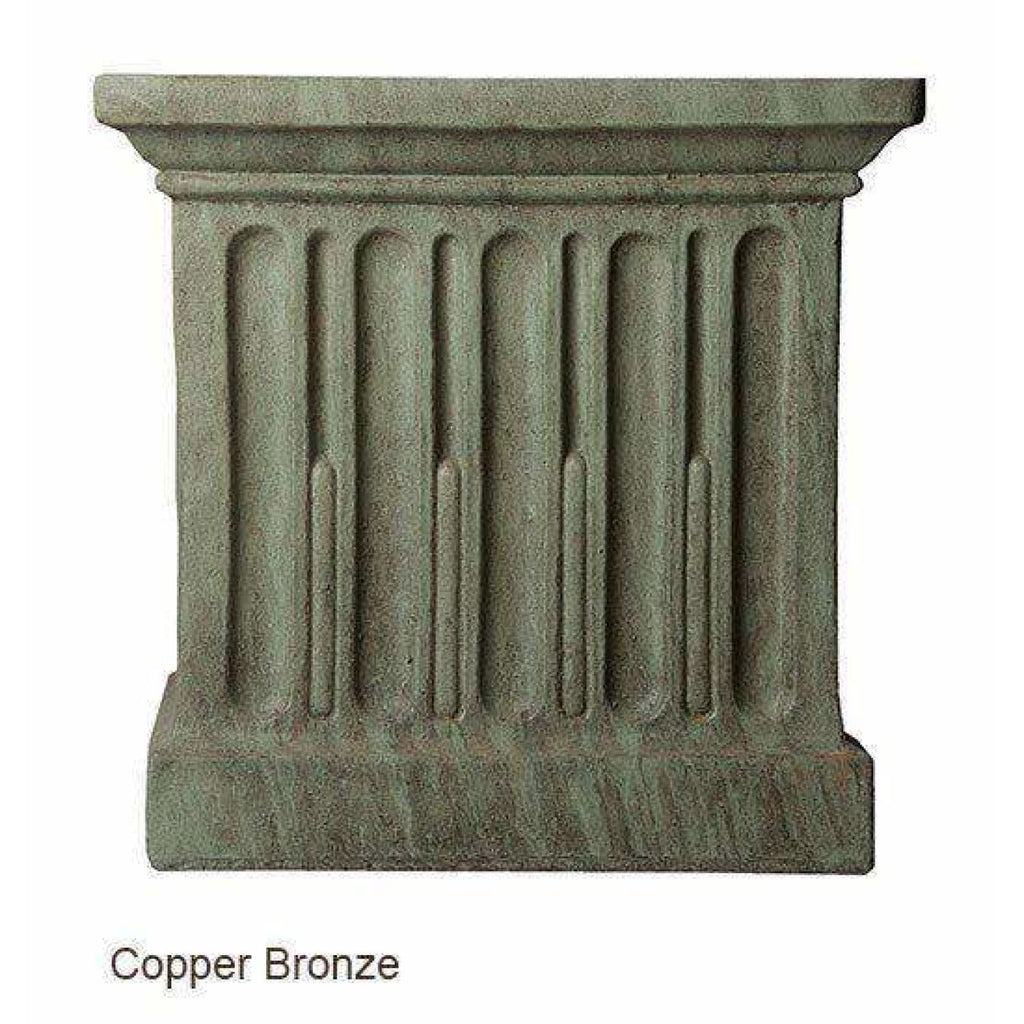 Campania International Charleston Garden Fountain - Copper Bronze - Estate Fountains