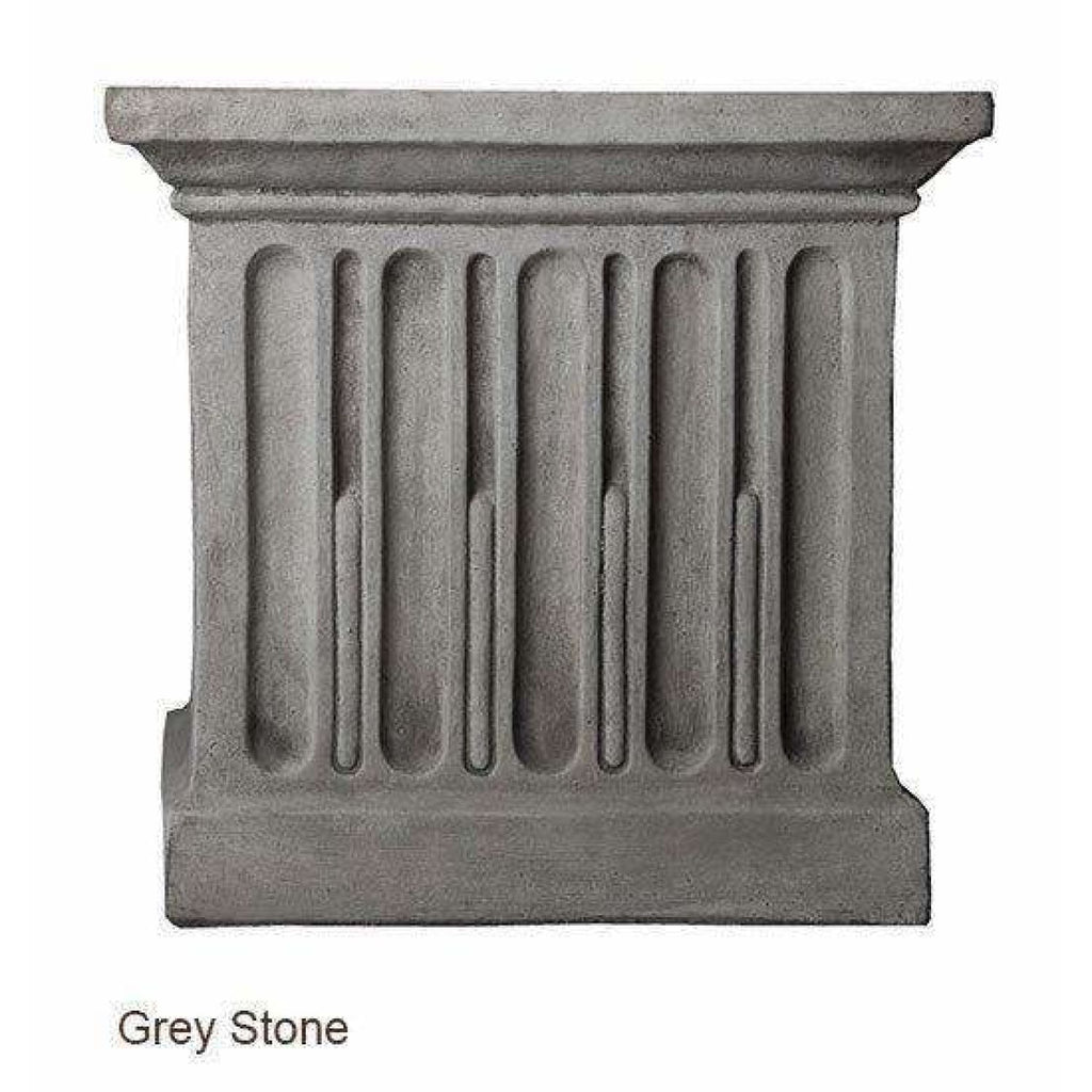 Campania International Charleston Garden Fountain - Grey Stone - Estate Fountains