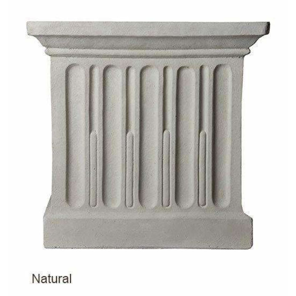 Campania International Charleston Garden Fountain - Natural - Estate Fountains