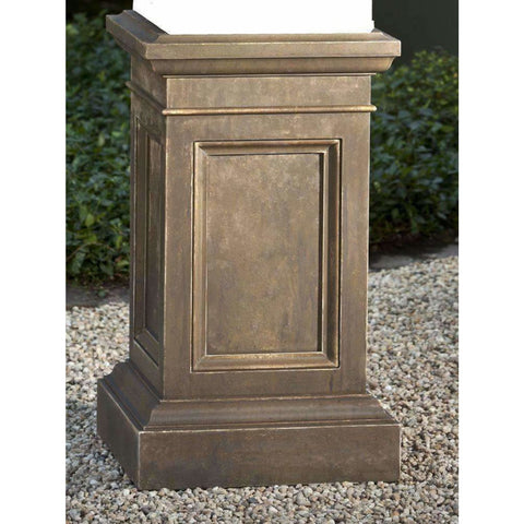 Image of Campania International Coachhouse Pedestal - Outdoor Pedestals
