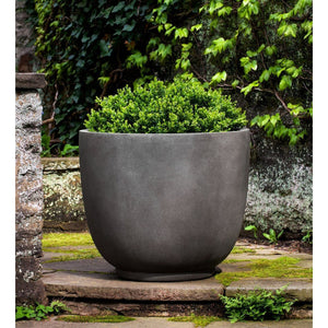 Campania International Danilo Planter - Concrete Lite