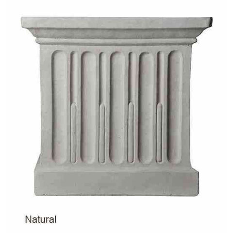 Campania International Estate Large Rolled Rim Planter - Natural - Cast Stone Planters