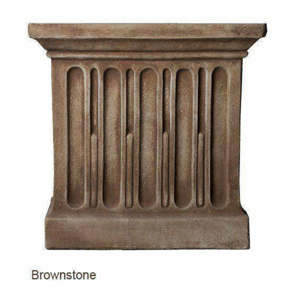 Campania International Long Beach Fountain - Brownstone - Modern Fountains