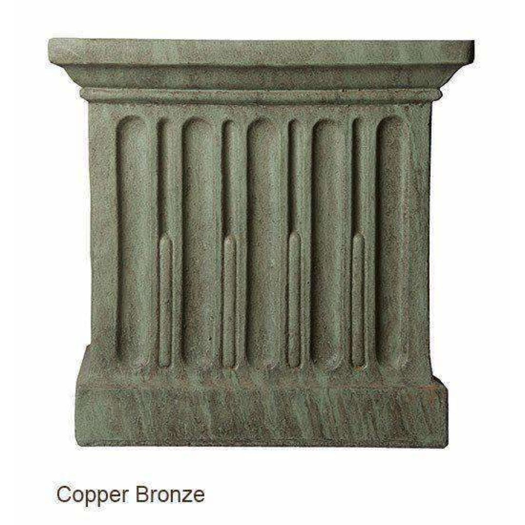 Campania International Long Beach Fountain - Copper Bronze - Modern Fountains