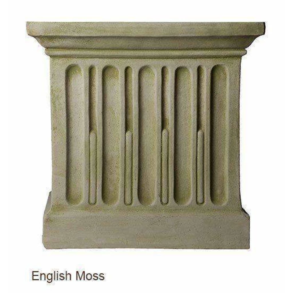 Campania International Long Beach Fountain - English Moss - Modern Fountains