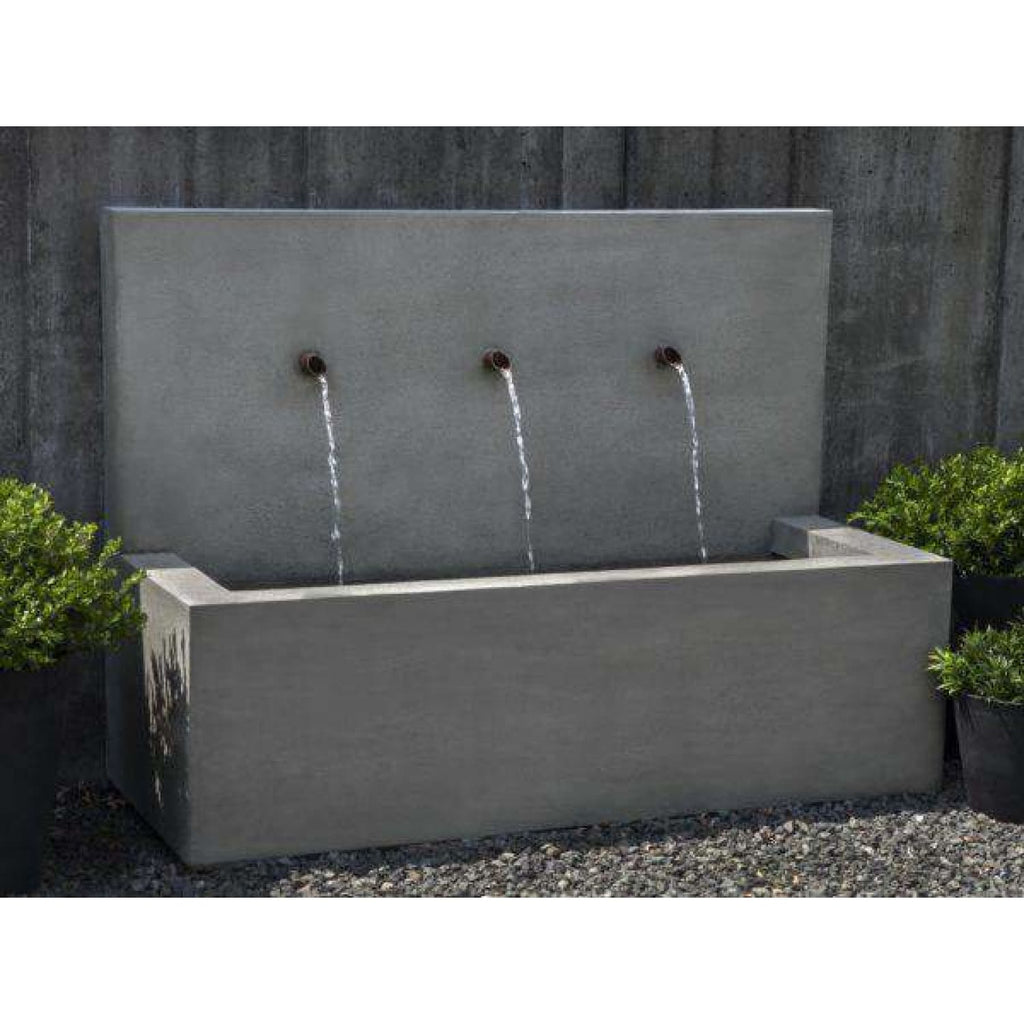 Campania International Long Beach Fountain - Modern Fountains