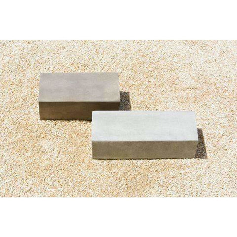 Image of Campania International Low Rectangular Plinth - Short Pedestals
