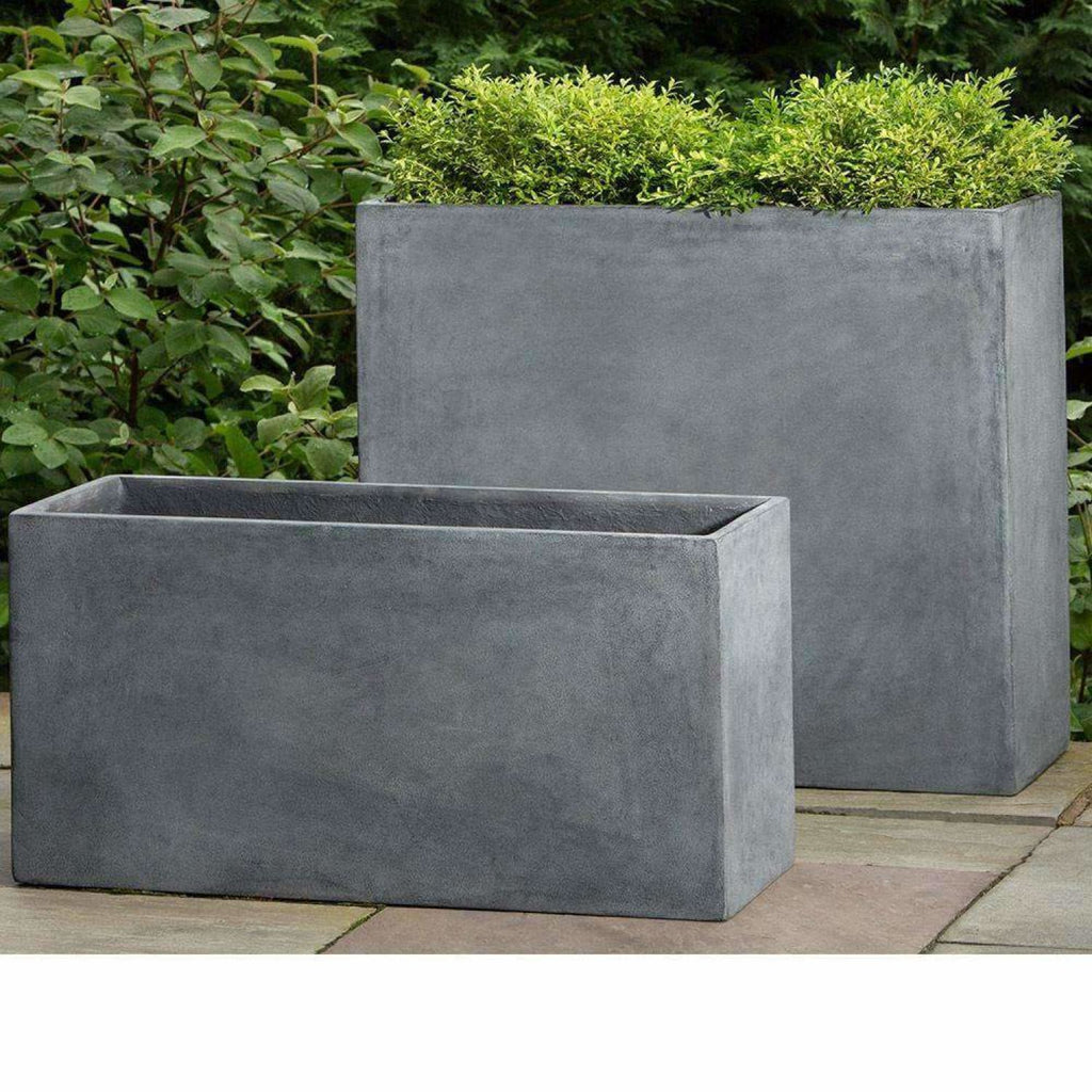 Campania International Modular Planter 7 in Lead Lite - Modular Planters