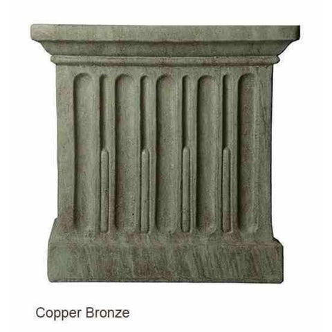 Campania International Relais Urn Set of 2 - Copper Bronze - Cast Stone Urn