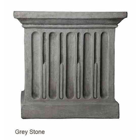 Campania International Relais Urn Set of 2 - Grey Stone - Cast Stone Urn