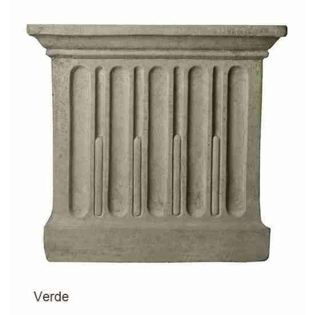 Campania International Relais Urn Set of 2 - Verde - Cast Stone Urn