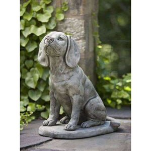 Campania International Scout the Dog Statue - Dog Statues- Made in USA