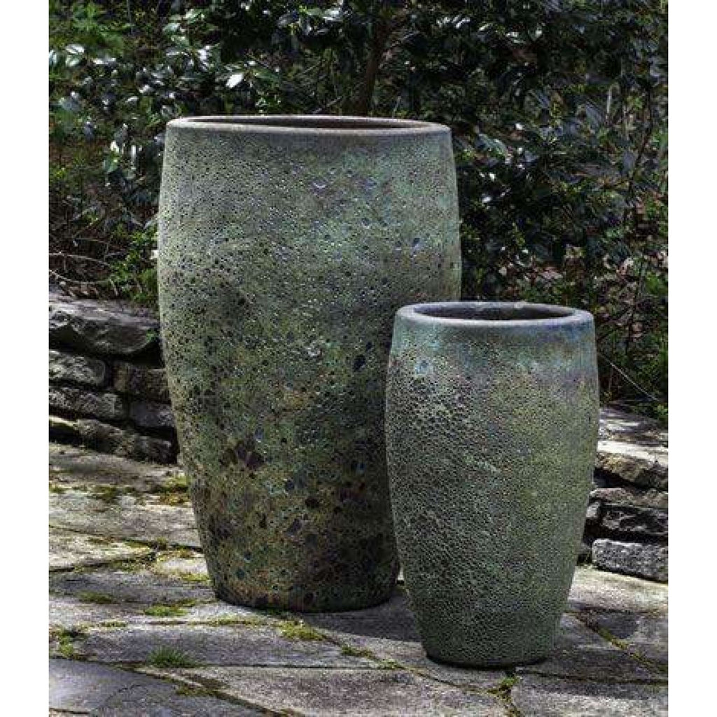Campania International Ta Som Planter Set of Two in Angkor Green Mist - Ceramic Planters