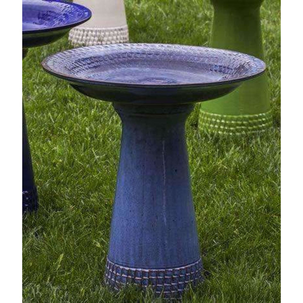 Campania International Tattersall Birdbath - Decorative Bird Baths