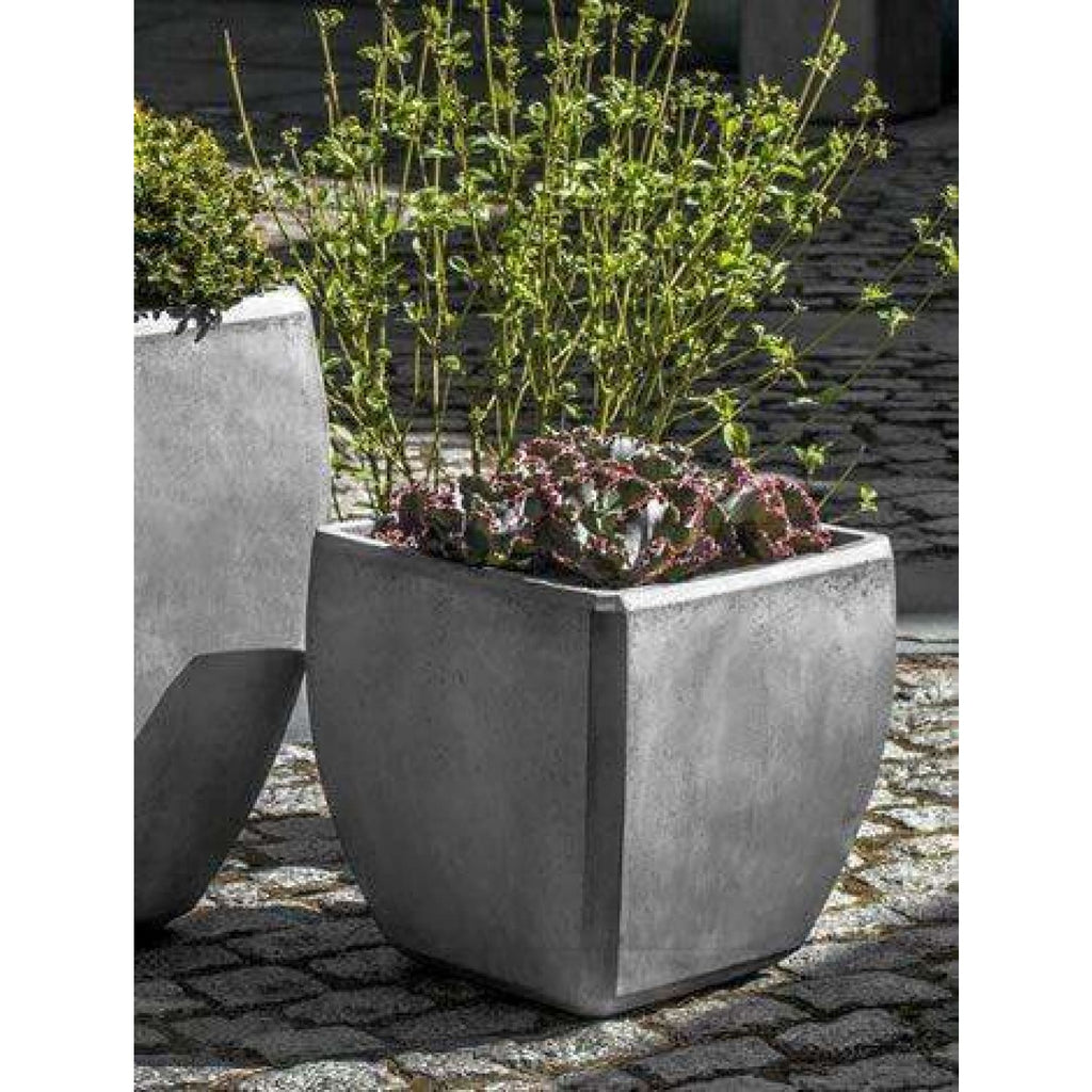 Campania International Urban Bevel Planter Set of 3 - Fiberclay
