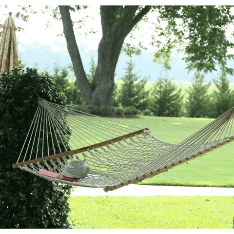 Pawleys Island Cotton Rope Hammock - Large Double - Outdoor Hammocks