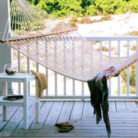 Pawleys Island Cotton Rope Hammock - Presidential - Outdoor Hammocks