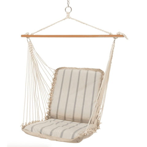 Pawleys Island Cushioned Single Swing - Outdoor Hammocks
