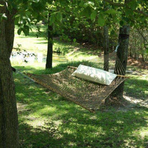 Pawleys Island DuraCord Rope Hammock - Large / Antique Brown - Outdoor Hammocks