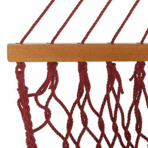Pawleys Island DuraCord Rope Hammock - Large / Garnet - Outdoor Hammocks