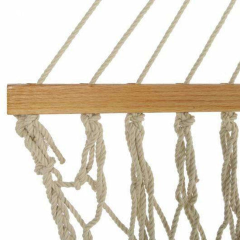 Pawleys Island DuraCord Rope Hammock - Large / Oatmeal - Outdoor Hammocks