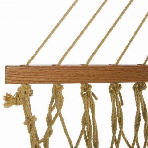 Pawleys Island DuraCord Rope Hammock - Large / Tan - Outdoor Hammocks