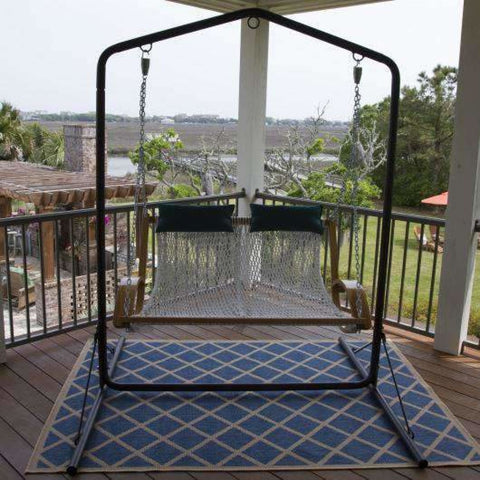 Pawleys Island Original Polyester Rope Double Swing - Outdoor Hammocks