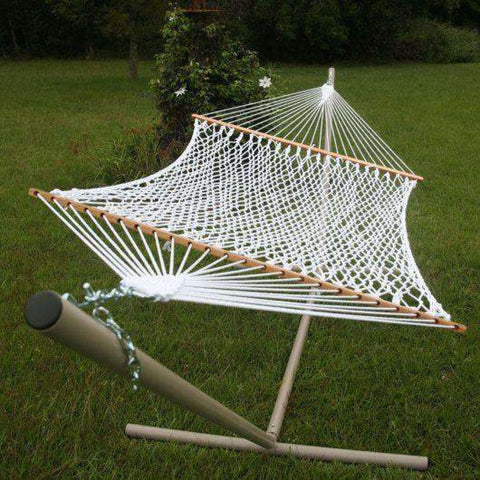 Pawleys Island Polyester Rope Hammock - Large - Outdoor Hammocks