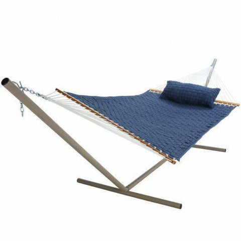 Image of Pawleys Island SoftWeave Hammock - Blue - Outdoor Hammocks