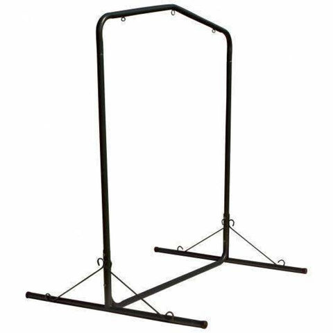 Pawleys Island Steel Swing Stand - Black - Outdoor Hammocks
