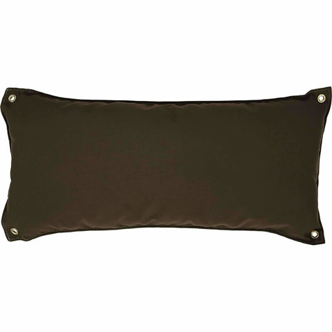 Pawleys Island Traditional Hammock Pillow - Canvas Cocoa - Outdoor Hammocks