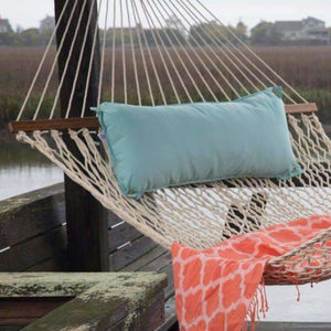 Pawleys Island Traditional Hammock Pillow - Canvas Glacier - Outdoor Hammocks