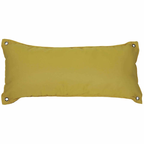 Pawleys Island Traditional Hammock Pillow - Canvas Sunflower - Outdoor Hammocks