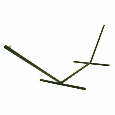 Pawleys Island Tri-Beam Steel Hammock Stand - Forest Green - Outdoor Hammocks