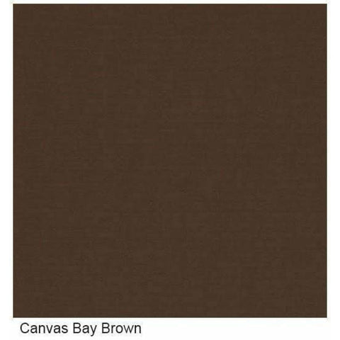 Image of Sunset West Cardiff Armless Outdoor Club Chair - Canvas Bay Brown - Outdoor Chair