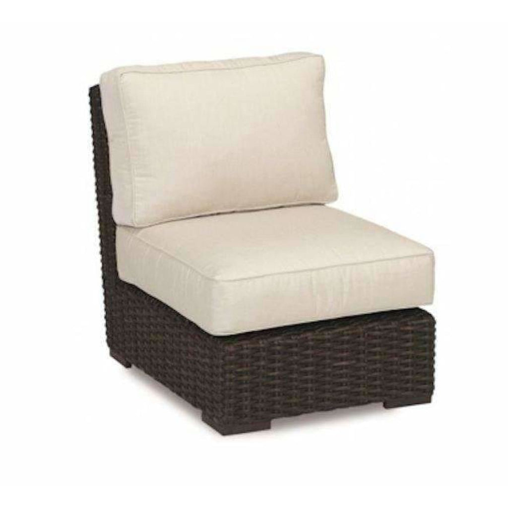 Sunset West Cardiff Armless Outdoor Club Chair - Outdoor Chair