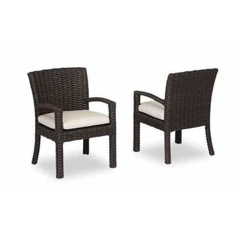 Image of Sunset West Cardiff Outdoor Dining Chair with Cushion - Outdoor Dining Chair
