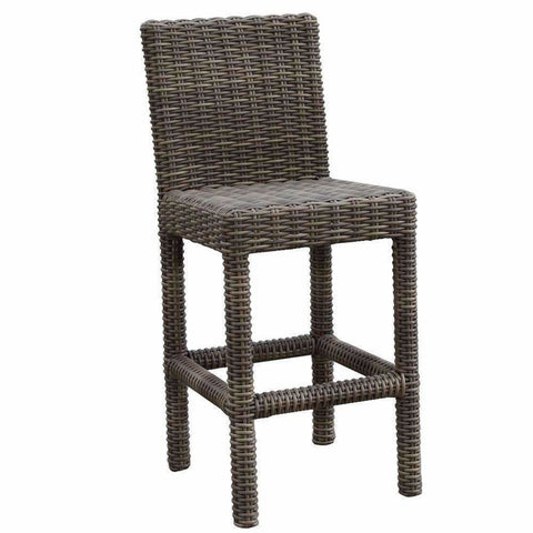 Sunset West Coronado Barstool with Cushion - Outdoor Dining Chair