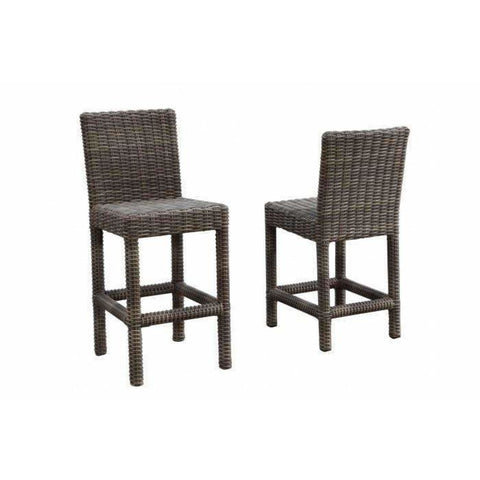 Image of Sunset West Coronado Barstool with Cushion - Outdoor Dining Chair