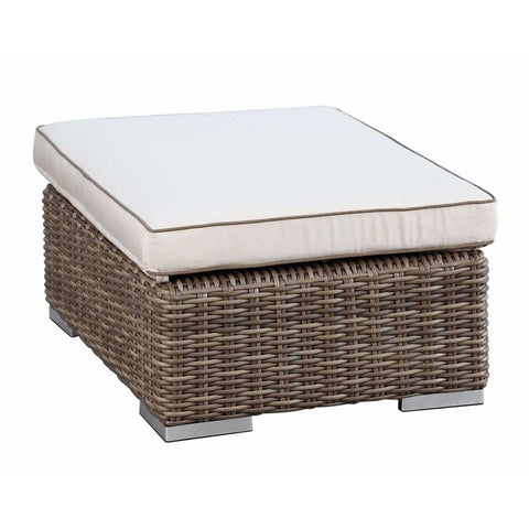 Image of Sunset West Coronado Ottoman - Outdoor Ottoman