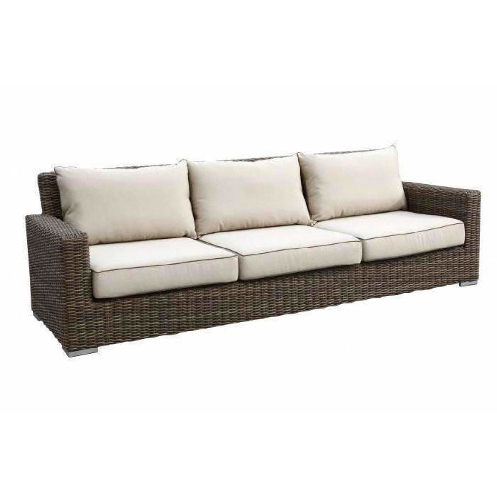 Sunset West Coronado Sofa Love Seat and Chair Collection - Outdoor Lounge Sets