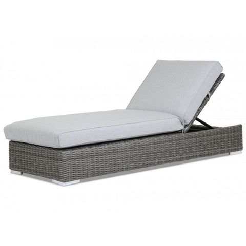 Image of Sunset West Emerald Outdoor Adjustable Chaise Lounge - Chaise Lounge Chair