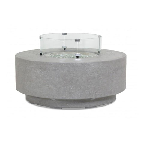 Sunset West Gravelstone Round Fire Table - Outdoor Fireplaces