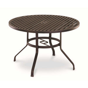 Sunset West La Jolla 48-inch Round Outdoor Dining Table - Outdoor Dining Table