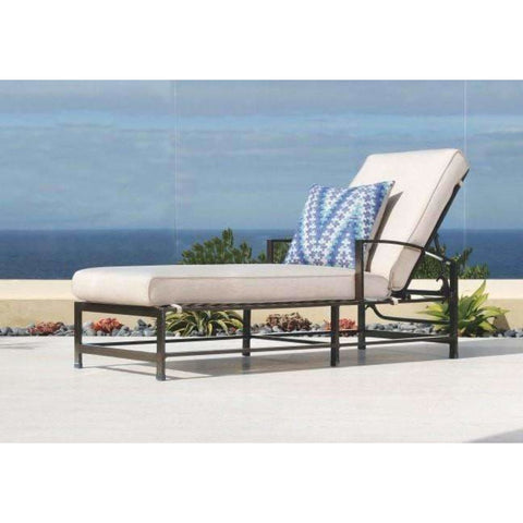 Image of Sunset West La Jolla Adjustable Outdoor Chaise Lounge - Chaise Lounge Chair