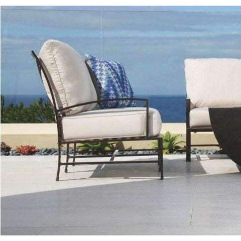 Image of Sunset West La Jolla Outdoor Club Chair - Outdoor Chair