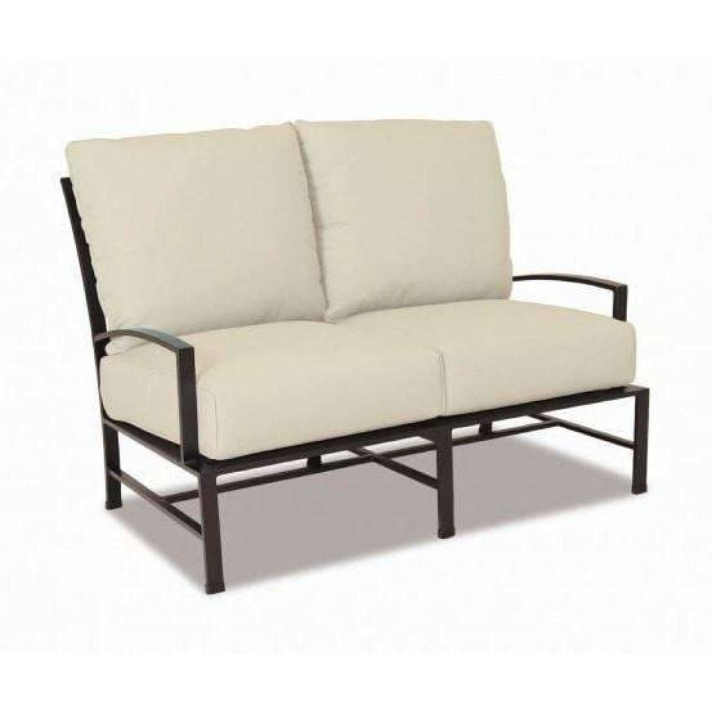 Sunset West La Jolla Outdoor Loveseat with Cushions - Outdoor Sofa
