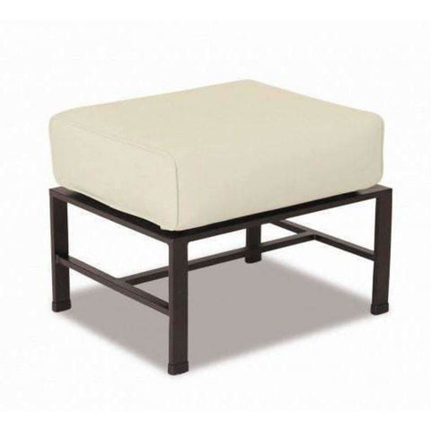Sunset West La Jolla Outdoor Ottoman with Cushion - Outdoor Ottoman